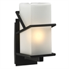 PLC Lighting PLC 1 Light Outdoor Fixture Oxford Collection , Bronze