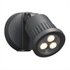 PLC Lighting PLC LED Outdoor Fixture Ledra Collection , Bronze