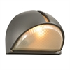 PLC 1 Light Outdoor Fixture Claret Collection , Bronze