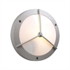 PLC Lighting PLC 1 Light Outdoor Fixture Cassandra-II Collection , Silver