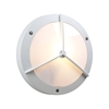 PLC Lighting PLC 1 Light Outdoor Fixture Cassandra-II Collection , White