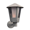 PLC Lighting PLC 1 Light Outdoor Fixture Silva Collection , Silver