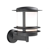 PLC 1 Light Outdoor Fixture Tusk Collection , Black