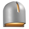 PLC Lighting PLC 1 Light Outdoor Fixture Phoenix Collection , Silver