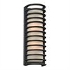 PLC Lighting PLC 2 Light Outdoor Fixture Sunset Collection , Bronze