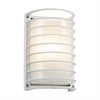 PLC Lighting PLC 1 Light Outdoor Fixture Sunset Collection , White