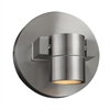 PLC Lighting PLC 1 Light Outdoor LED Fixture Lydon Collection , Brushed Aluminum