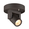 PLC Lighting PLC 1 Light Outdoor LED Fixture Lydon Collection , Bronze