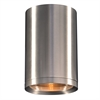 PLC Lighting PLC 1 Light Outdoor (down light) LED Marco Collection , Brushed Aluminum