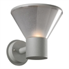PLC 1 Light Outdoor Fixture Nautica Collection , Silver