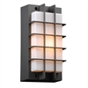PLC Lighting PLC 1 Light Outdoor Fixture Lorca Collection , Bronze