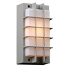 PLC Lighting PLC 1 Light Outdoor Fixture Lorca Collection , Silver