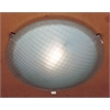 PLC Lighting PLC 1 Light Ceiling Light Contempo Collection , Rust