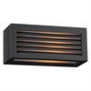 PLC Lighting PLC 1 Light Outdoor Fixture Madrid Collection , Bronze