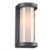 PLC Lighting PLC 1 Light Outdoor Fixture Vivace Collection , Bronze