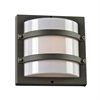 PLC Lighting PLC 1 Light Outdoor Fixture Spa Collection , Bronze