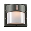 PLC Lighting PLC 1 Light Outdoor Fixture Jedi Collection , Bronze