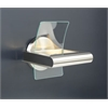 PLC Lighting PLC 1 Light Sconce Patrick Collection , Satin Nickel