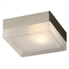 PLC Lighting PLC 1 Light Wall Light Praha Collection , Satin Nickel