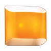 PLC Lighting PLC 2 Light Sconce Jackson Collection , Amber