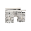 PLC Lighting PLC 2 Light Vanity Rigga Collection , Polished Chrome