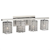 PLC Lighting PLC 4 Light Vanity Rigga Collection , Polished Chrome