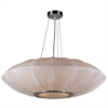 PLC Lighting PLC 4 Light Pendant Mars Collection , Ivory