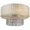 PLC Lighting PLC 4 Light Ceiling Light Pegasus Collection , Beige