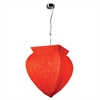 PLC Lighting PLC 1 Light Pendant Bombay Collection /PC, Polished Chrome