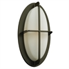 PLC Lighting PLC 1 Light Outdoor Fixture Aqua Collection , Bronze