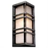 PLC 1 Light Outdoor Fixture Trevino Collection , Bronze