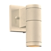 PLC 1 Light Outdoor Fixture Troll-I Collection 8022 WH, White