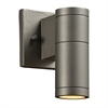 PLC 1 Light Outdoor Fixture Troll-I Collection , Bronze