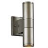 PLC Lighting PLC 2 Light Outdoor Fixture Troll-II Collection , Aluminum