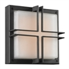 PLC 1 Light Outdoor Fixture Piccolo Collection , Bronze