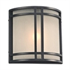 PLC Lighting PLC 1 Light Outdoor Fixture Summa Collection , Bronze