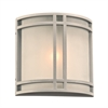 PLC 1 Light Outdoor Fixture Summa Collection , Silver