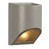 PLC Lighting PLC 1 Light Outdoor Fixture Perry Collection , Silver