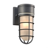 PLC Lighting PLC 1 Light Outdoor Fixture Cage Collection , Bronze