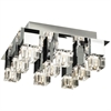 PLC Lighting PLC 9 Light Ceiling Light Charme Collection , Polished Chrome