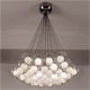 PLC Lighting PLC 37 Light Chandelier Hydrogen Collection , Satin Nickel