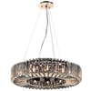 PLC Lighting PLC 12 Light Pendant Marquee Collection , Polished Chrome