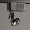 PLC Lighting PLC Track Lighting 1 Light Gimbal-12v. Collection , Black