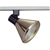 PLC Lighting PLC Track Lighting Lamp Shade Comet-I Collection , Polished Brass