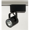 PLC Lighting PLC Track Lighting 1 Light Slick-12v. Collection , Black