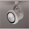 PLC Lighting PLC Track Lighting 1 Light  Bell-I Collection , White
