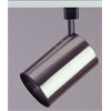 PLC Lighting PLC Track Lighting 1 Light  Cylinder Collection , Satin Nickel