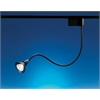 PLC Lighting PLC Track Lighting 1 Light Flexxi Collection , Satin Nickel