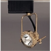 PLC Track Lighting 1 Light Sport Collection , Polished Brass