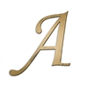 Individual Script Letters Wall Decor, Letter A